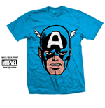 T-Shirt Marvel Comics - Capt. America Big Head