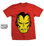 T-Shirt Iron Man Big Head