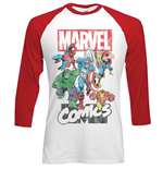 Langärmeliges T-Shirt Marvel Superheroes Marvel Montage
