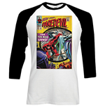 Marvel Superheroes langärmeliges T-Shirt für Männer - Design: Dare-devil Comic