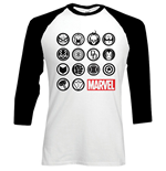 langärmeliges T-Shirt Marvel Superheroes Marvel Icons