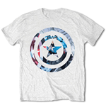 T-Shirt Comics: Captain America Knock-out