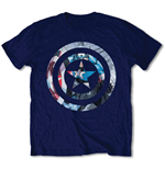 T-Shirt Captain America  - Captain America Knock-out
