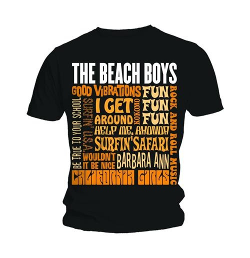 The Beach Boys Top für Männer - Design: Best of SS