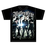 Mötley Crüe  T-Shirt für Männer - Design: Group Photo