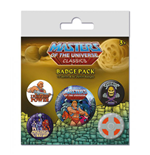 Masters of the Universe Ansteck-Buttons 5er-Pack I Have The Power