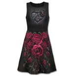 Kleid Spiral Blood Rose Ao