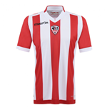 T-Shirt AC Ajaccio 2015-2016 Authentic Home Match Shirt