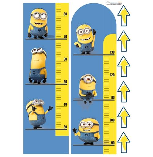 Wandtattoo ich einfach unverbesserlich minions meter f r nur 18 90 bei merchandisingplaza - Minions wandtattoo ...