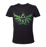 T-Shirt The Legend of Zelda Distress Green Royal Crest - 5