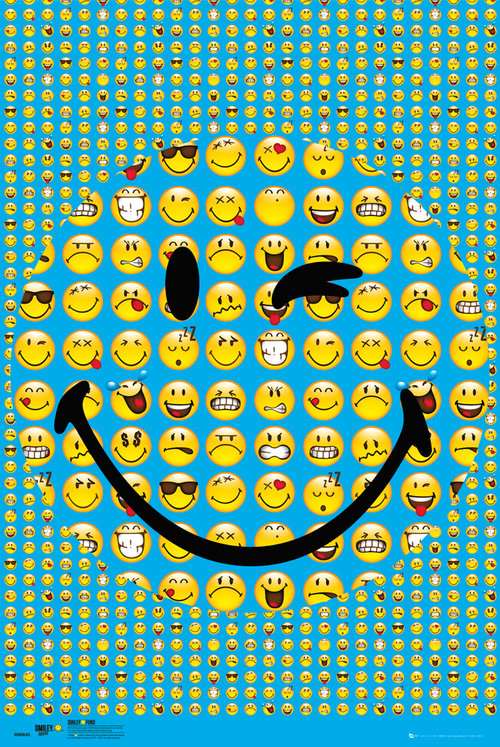 Poster Smiley Smile