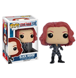 Captain America Civil War POP! Vinyl Wackelkopf Black Widow 10 cm