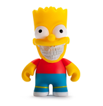 Simpsons Vinyl Figur Bart Grin by Ron English 8 cm