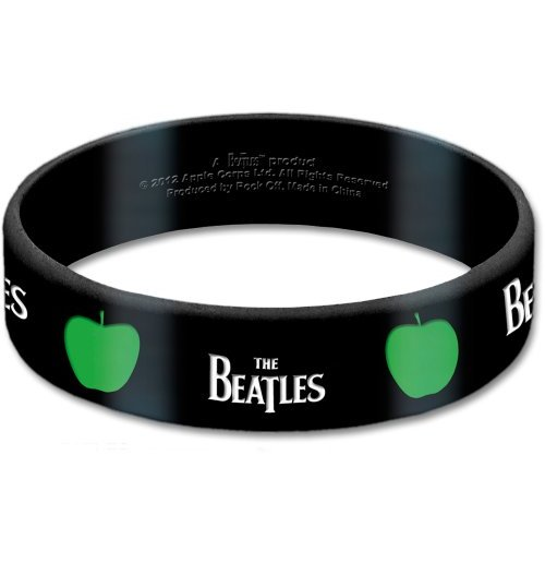 kaufe armband beatles drop t apple aus gummi. Black Bedroom Furniture Sets. Home Design Ideas