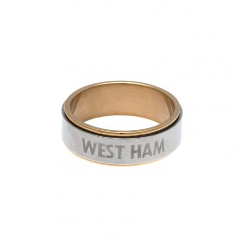 West Ham United Ring - Größe XS