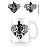 Superman Tasse The Man Of Steel Typography