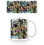 Doctor Who Tasse Montage