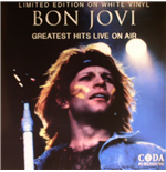 Vinyl Bon Jovi - Greatest Hits Live On Air  (White Vinyl)