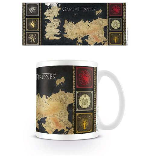 Tasse Game of Thrones (Games of Thrones) - Landkarte