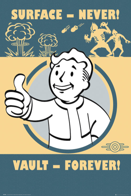 Poster Fallout Forever