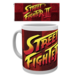 Street Fighter Tasse Logo II