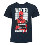 T-Shirt Deadpool  Dead and Wanted