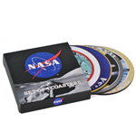 NASA Untersetzer 4-er Pack Badges
