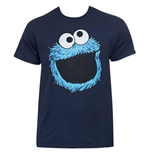 T-Shirt Sesame Street Cookie Monster Face