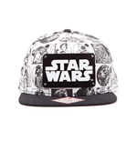 Star Wars Snap Back Hip Hop Cap Comic Style