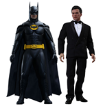 Batmans Rückkehr Movie Masterpiece Actionfiguren Doppelpack 1/6 Batman & Bruce Wayne 32 cm