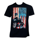 T-Shirt Captain America  Civil War Patriotic Captain