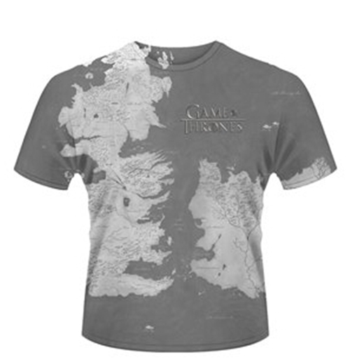 T-Shirt Game of Thrones - Westeros