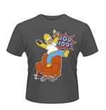 T-Shirt Die Simpsons Who Hoo