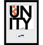 Poster Blue Note Records - Unity mit Rahmen