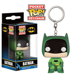 DC Comics Pocket POP! Vinyl Schlüsselanhänger 75th Anniversary Batman Green 4 cm