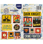 DC Comics Vinyl Sticker Pack Retro (10)