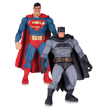 The Dark Knight Returns Series Actionfiguren Doppelpack Superman & Batman 30th Anniversary 17 cm