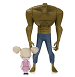 The New Batman Adventures Actionfigur Killer Croc with Baby Doll 16 cm