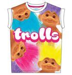 Trolls T-Shirt BIG PRINT SUBLIMATION