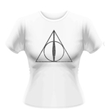T-Shirt Harry Potter  Deathly Hallows Symbol