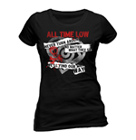 T-Shirt All Time Low  201716