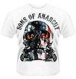 T-Shirt Sons of Anarchy - Flame Skull