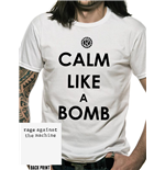 T-Shirt Rage Against The Machine  - Calm Like A Bomb