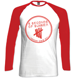 langärmeliges T-Shirt 5 seconds of summer 204789