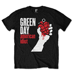 T-Shirt Green Day - American Idiot Black