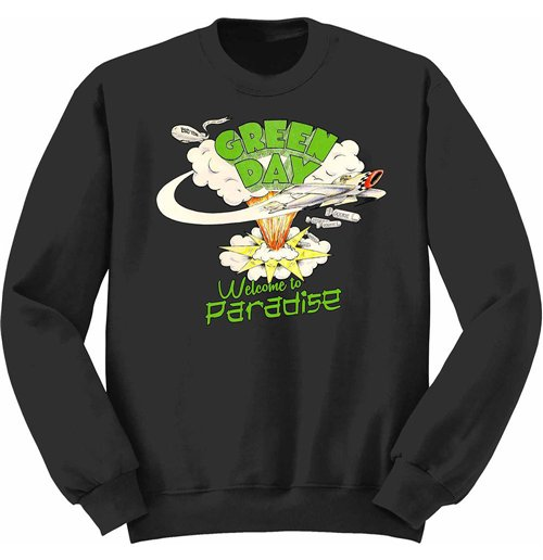 Sweatshirt Green Day 204912