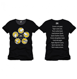 T-Shirt Big Bang Theory - ROCK, PAPER, Scissors