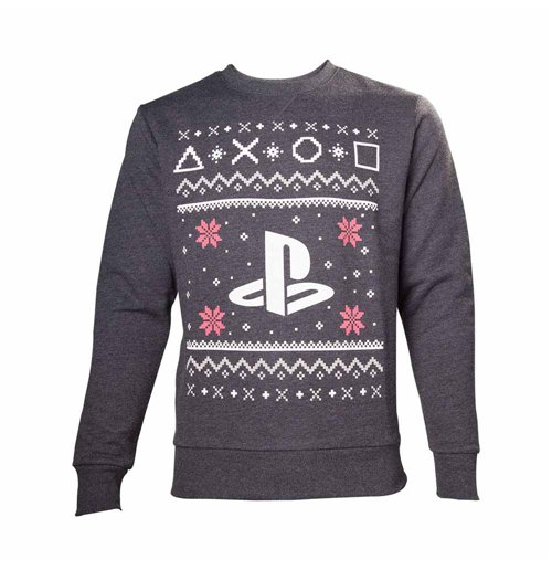 Sweatshirt PlayStation - Black Logo Weihnachten