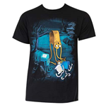 T-Shirt Adventure Time Melting