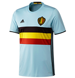 T-Shirt Belgien Fussball 2016-2017 Away
